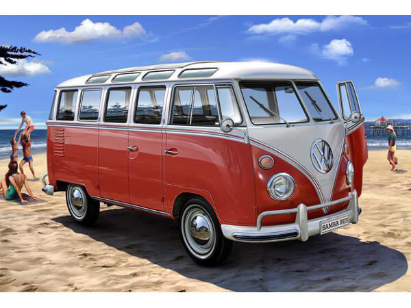 REV07399 VW T1 Samba Bus Plastic Kit