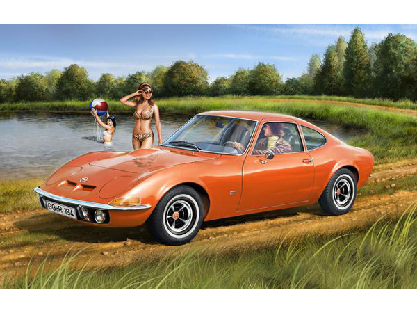 REV07680 Opel GT Plastic Kit