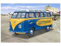 "REV07436 VW T1 Samba Bus ""Lufthansa"" Plastic Kit"