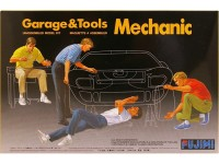 FUJ110035 Mechanic Figures Plastic Kit