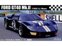 FUJ126036 Ford GT40 Mk II '66 Le Mans winner Plastic Kit