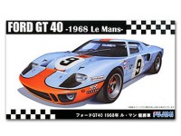 FUJ126050 Ford GT40  '68 Le Mans winner Plastic Kit