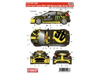 STU27DC1106 Ford Fiesta WRC #46 Monza Rally Show 2014  Rossi Waterslide decal Decal