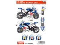 STU27DC860 Yamaha YZR-M1  #46/99/8  Rossi  2010 Waterslide decal Decal
