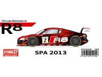 STU27FK24125 Audi R8  Spa 2013 Multimedia Kit