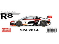 STU27FK24126 Audi R8  Spa 2014 Multimedia Kit