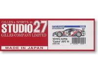 "STU27FK2448 Toyota Supra ""Castrol""  JGTC  2001 Multimedia Kit"