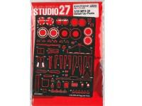 STU27FP20149 Mclaren MP4-30 Detail up parts Multimedia Accessoires