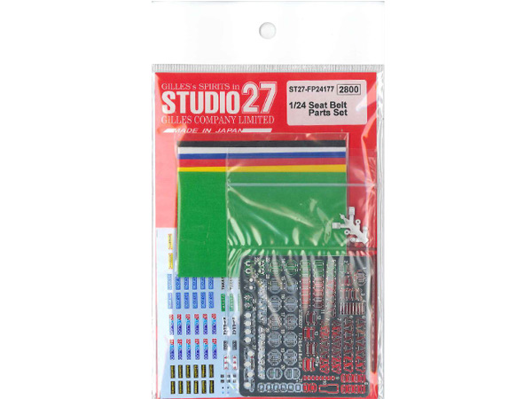 STU27FP24177 Seat belt parts set (1/24) Multimedia Accessoires