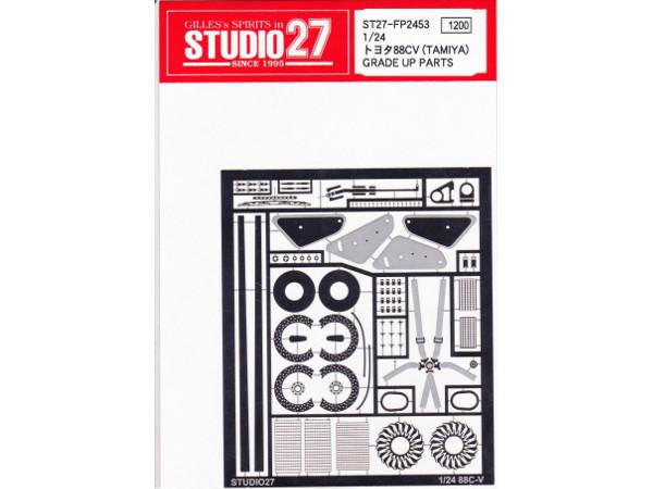 STU27FP2453 Toyota 88CV  grade up parts Etched metal Accessoires