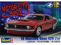 REVUS85-2149 70 Mustang Boss 429  3'n1 Plastic Kit