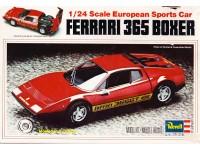 REVUSH-7301 Ferrari 365 Boxer Plastic Kit