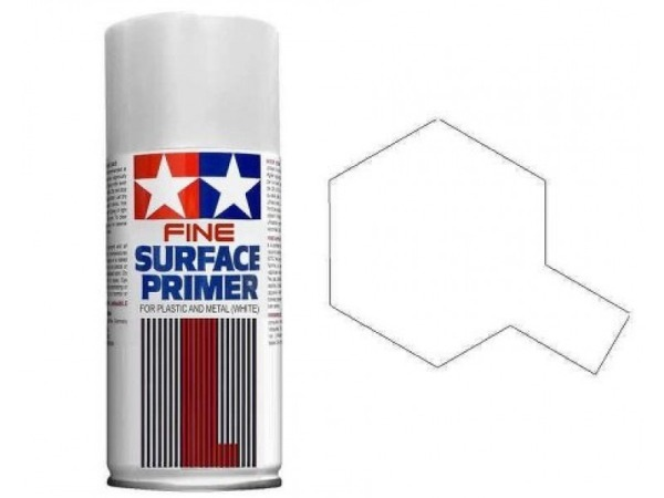 TAM87044 Fine surface primer White 180 ml Paint Material