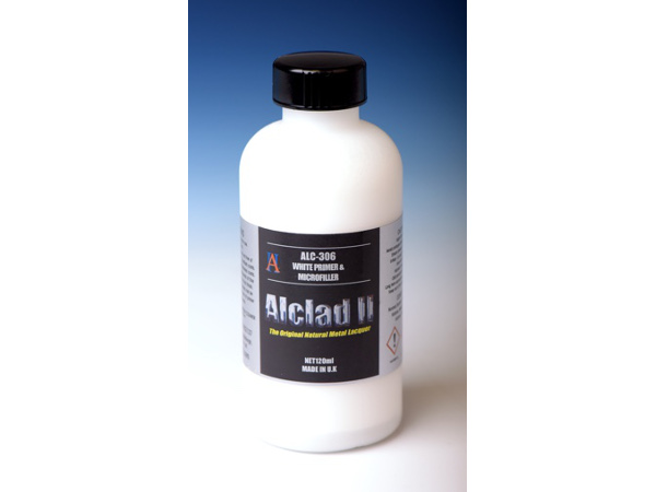 ALC306 Alclad white primer-microfiller 120 ml Paint Material
