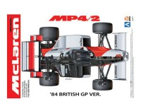 BEE20001 Mclaren MP4/2 1984 British GP Plastic Kit
