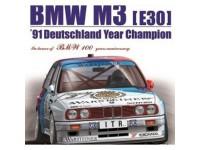 BEE24009 BMW M3 (E30) 1991 Deutschland Year Champion Plastic Kit