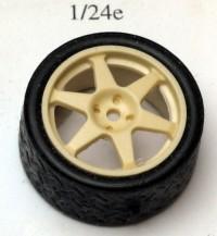 24SP18-6 4 rims Speedline 6 spokes + 4 treated tyres  18 inch Resin Accessoires