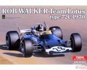 EBR20002 Team Lotus type 72C  Rob Walker 1970 Plastic Kit
