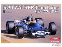 EBR20002 Team Lotus type 72C  Rob Walker 1970 Plastic Kit