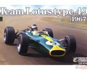 EBR20004 Team Lotus type 49  1967 Plastic Kit