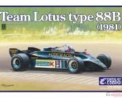 EBR20010 Team Lotus type 88B  1981 Plastic Kit