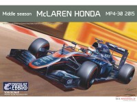 EBR20014 Mclaren honda MP4/30  2015 middle season Plastic Kit