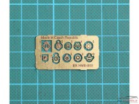 HME005 Emblem set Etched metal Accessoires