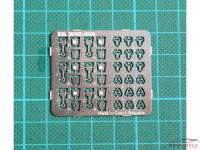 HME008 Safety belt set Etched metal Accessoires