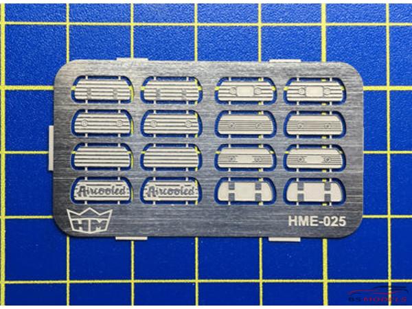 HME025 VW valve cover set Etched metal Accessoires