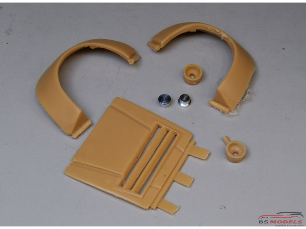 TK24-150SD BMW M1 Gr 4 grade up parts for Revell 07247 Multimedia Accessoires