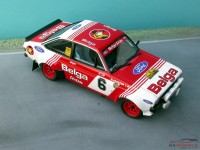 "TK24-220 Ford Escort RS Gr 4  ""Belga"" decal  Robert Droogmans Condroz 1983 Waterslide decal Decal"