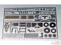 "TK24-299 Porsche 935/78  ""Moby Dick"" photoetched set  for Tamiya Etched metal Accessoires"
