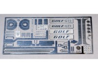 TK24-410 VW Golf GTI  MK1 detail set for Revell kit Etched metal Accessoires