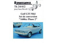 TK24-412 VW Golf GTI MK1  transkit  1600cc phase 2 for Revell Multimedia Transkit