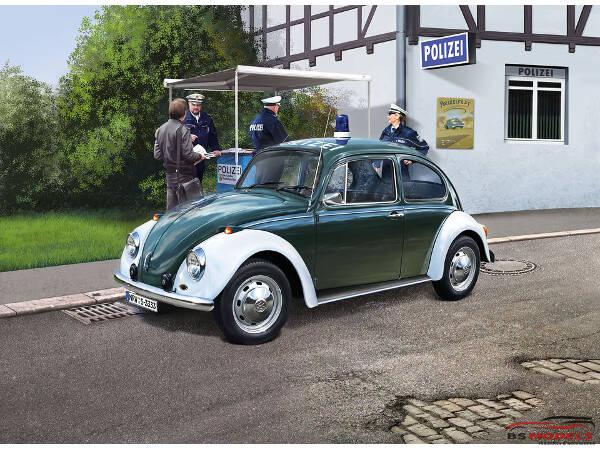 REV07035 VW Beetle Police Plastic Kit