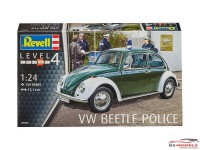 REV07035 VW Beetle Police Plastic Kit