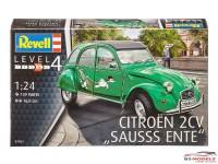 REV07053 Citroën 2CV  Sausss Ente Plastic Kit