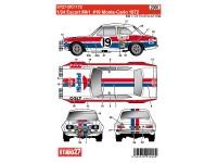 STU27DC1172 Ford Escort MK1 Tomi Makinen #19  Monte Carlo 1972  Pepsi Waterslide decal Decal
