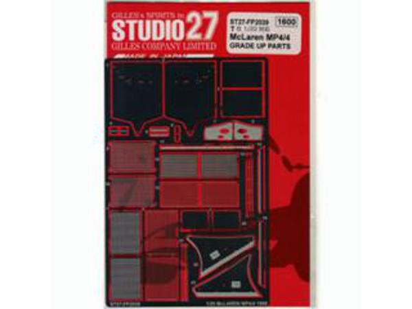 STU27FP2039 Mclaren MP4/4 photoetched parts (for Tamiya) Etched metal Accessoires