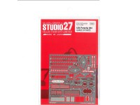 STU27FP24159 Porsche 934  photoetched parts  (For Tamiya) Etched metal Accessoires