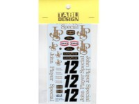 TABU12054 Lotus Type 72D option decal 1973 Waterslide decal Decal