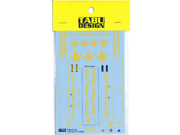 TABU20147 Lotus Type 91  option decal  (For Ebbro) Waterslide decal Decal