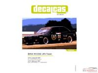 DCLDEC003 BMW M3 E30  JPS Team BMW  Lakeside 1987 / Bathurst 1987 Waterslide decal Decal
