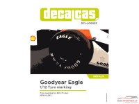 DCLLOG003 Goodyear Eagle tyre markings Waterslide decal Decal