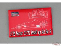 HD020158 Ferrari 312T2  PE + metal parts for Hasegawa kit Multimedia Accessoires