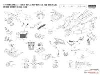 HD020158 Ferrari 312T2  PE + metal parts for Hasegawa kit Multimedia Accessoires