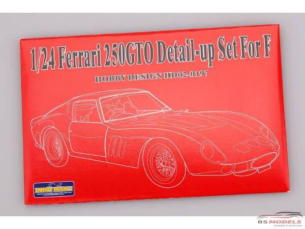 HD020197 Ferrari 250 GTO PE+knob switch+toggle switch+rivet (for Fujimi) Multimedia Accessoires
