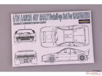 HD020256 Lancia 037  PE + resin + metal parts (for Hasegawa) Multimedia Accessoires