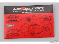 HD020271 La Ferrari  PE + resin   (for Tamiya) Multimedia Accessoires