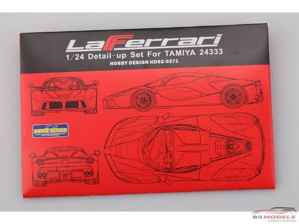 HD020271 La Ferrari  PE + resin   (for Tamiya) Multimedia Accessoires